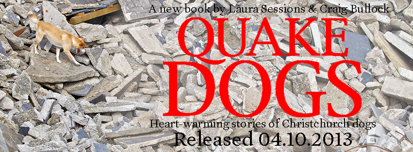 Quake Dogs Book Launch