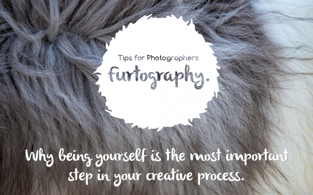 Why being yourself is the most important step in your creative process.