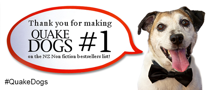 Quake Dogs Is On Top Of The Bestsellers List!